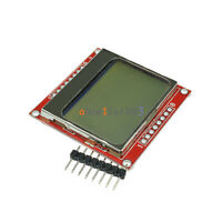 84*48 LCD Module White Backlight Adapter PCB for Nokia 5110 Arduino...