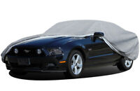 4 Layer Car Cover Fitted Outdoor Water Proof Rain Sun UV Snow Dust All Weather