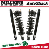 Front Rear (2) Complete Struts Assembly (2) Shocks For 02-09 Trailblazer