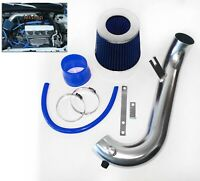 BLUE For 2001-2005 Honda Civic 1.7L L4 Air Intake System Kit + Filter
