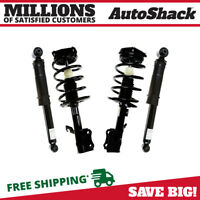 Front Rear (2) Complete Struts Assembly w/springs (2) Shocks For 07-12 Sentra