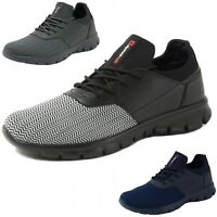 Alpine Swiss Leo Men Sneakers Flex Knit Tennis Shoes Casual Athletic Lightweight