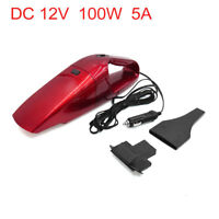 DC 12V 100W Portable Auto Car Handheld Wet Dry Vacuum Cleaner Dustbuster Red