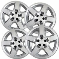 Hubcaps fits 2007-2010 Pontiac G6 - 17 Inch Silver Replacement Wheel Cover Rim