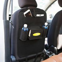Auto Car Seat Back Multi-Pocket Hanging Bag Storage Organizer iPad iPhone Holder