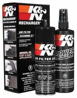 K&N Air Filter Cleaning Cleaner Recharger Kit With Oil Spray Can 99-5000