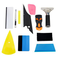 10 In 1 Car Window Auto Film Bubble Tools Squeegee Scraper Clean Paint Kit Tint