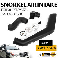 Air Intake Snorkel Fits For 98-07 Toyota Land Cruiser Full Kit LEXUS LX470 Car