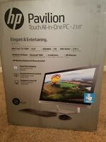 HP Pavilion 23-q113w Desktop All-in-one Windows 10 Home 1tb HDD 6gb Ddr3