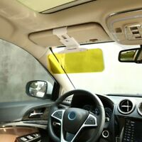 Day & Night 2 IN1 Car Sun Visor Anti Glare HD Mirror Safety Driving UV Sun Block