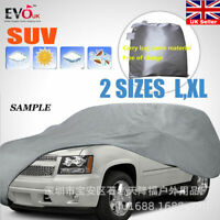 SUV Full Car Cover Dust-proof and Dust-proof Vehicle Clothing Silver Vehicle