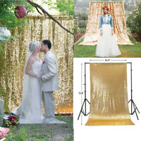 Glitter Sequin Backdrop Photo Booth Curtain Photography Background Wedding Party