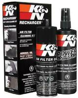 K&N Air Filter Oil Care Cleaning Service Kit Recharger Aerosol Car Spray New