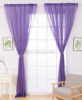 2pcs Linen Curtains Place Layout Party Supplies Home Curtain Partition  !