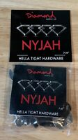NYJAH HUSTON - Diamond Supply - Hella Tight Hardware - 7/8""
