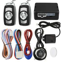 Ignition Car Alarm Security Keyless Entry System Push Button Engine Starter US