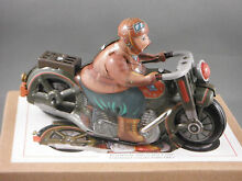Motor cycle tin toy