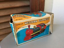 Wind up western express toy train