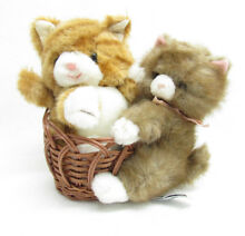 Tisket tabby kitten cat plush