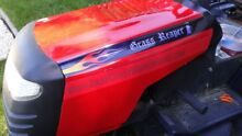 Lawn mower decals 2pc grass reaper