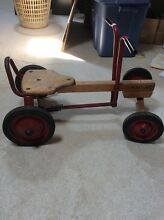 Radio flyer row cart ride on childs