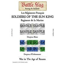Battle flag soldiers of the sun
