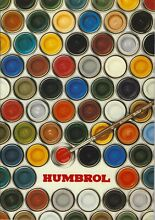 Humbrol full catalogue 30 page a4