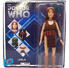 Dr doctor who leela action figure