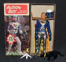 Captain action ideal 1968 mib space