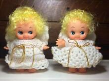 Dolls hand made angel outfits