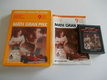 Math gran prix atari 2600 7800 game
