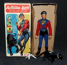 Captain action ideal 1967 boxed all