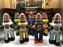 Moon robot set 7 of 8 yonezawa tin