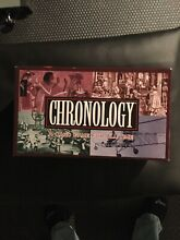 Chronology card family game for all