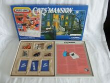S cats mansion board game 1984