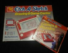 Etch a sketch drawing game center