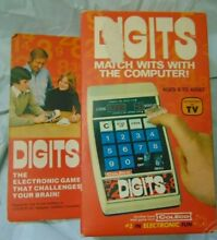 Digits 1979 computer game new in