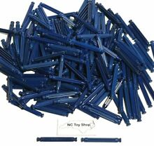 200 k nex dark blue rods 2 25 bulk