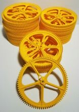 K nex big yellow gear large 5 crown