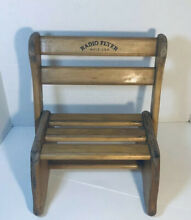 Radio flyer seat step