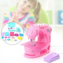 Electric sewing machine toys