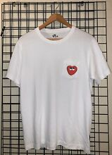 Kaws x uniqlo collab t shirt heart