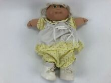 Coleco green eyes preemie doll 1984
