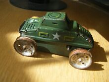 Tank a 585 clockwork tinplate