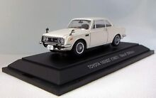 Toyota 1600gt 1967 scale 1 43 by
