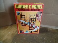 Kenner girder panel action bridge