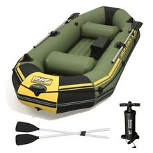 Inflatable boat air deck floor