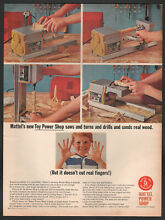 1965 paper ad toy power shop