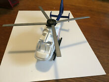 Police helicopter diecast aircraft
