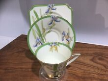 Royal doulton trio iris patt reg no
